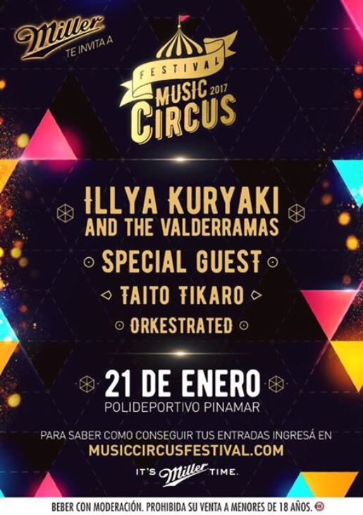Festival Music Circus 2017